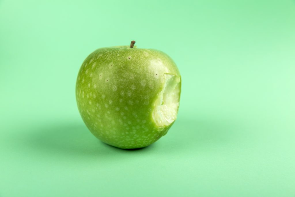 mela verde morsa cura